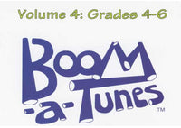 Boomwhackers Boom-A-Tunes CD ~ Volume 4