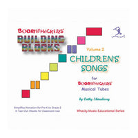 Boomwhackers Building Blocks Book – Volume 2