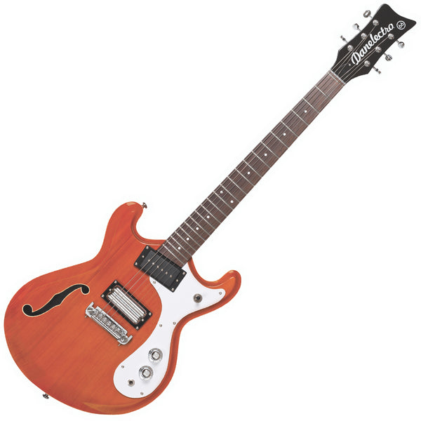Danelectro '66 Guitar ~ Transparent Orange
