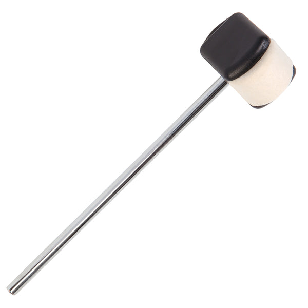 Drum Tech Double Headed Bass Drum Beater – Felt/Plastic