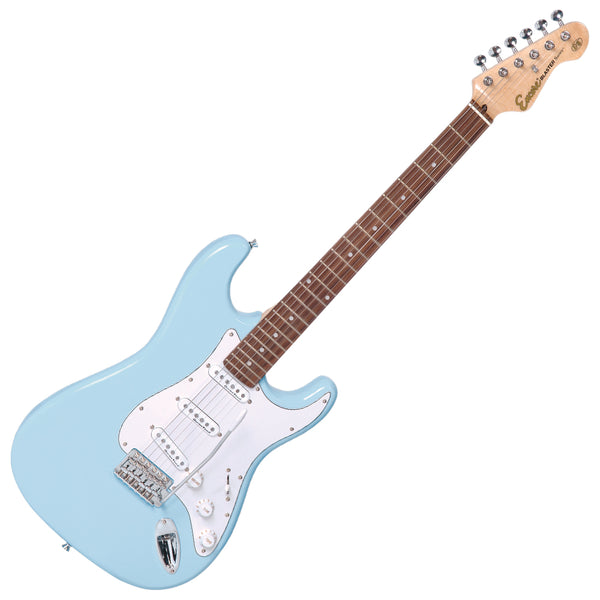 Encore E6 Electric Guitar ~ Laguna Blue