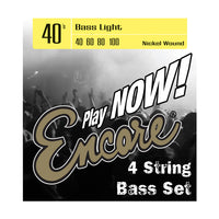 Encore Nickel Wound Bass String Set - Light