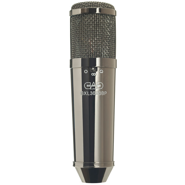 CAD GXL 3000 Large Multi-Pattern Condenser Microphone - Black Pearl Chrome