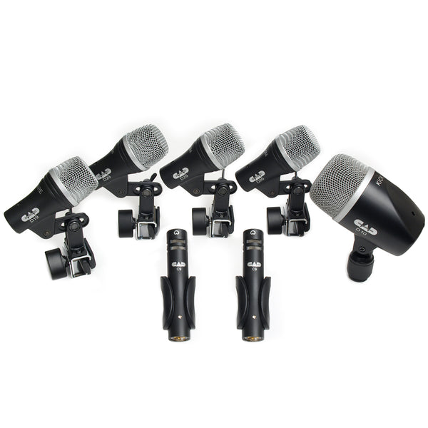 CAD 7 Piece Drum Microphone Pack