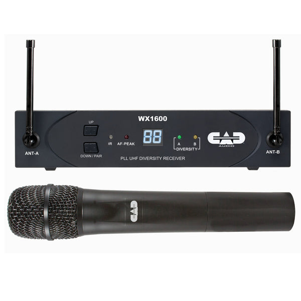 CAD StageSelect 1600 Series UHF Wireless Microphone System