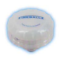 Fireballz  Cymbal Light ~ Brilliant Blue