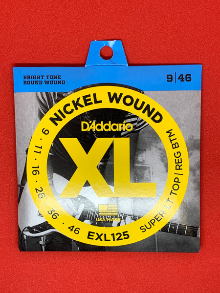 D'Addario 9-46 Nickel Wound