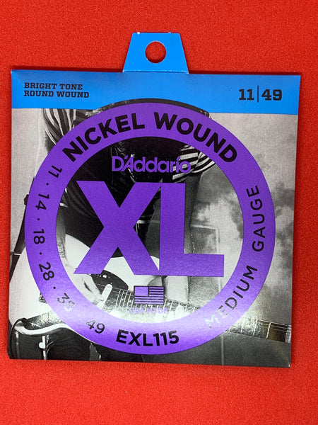 D'Addario 11-49 Nickel Wound