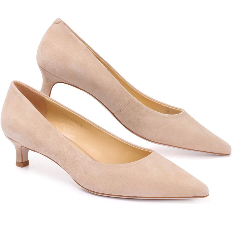 Leather Courts with Kitten Heel - YAXIA29504 / 315 729