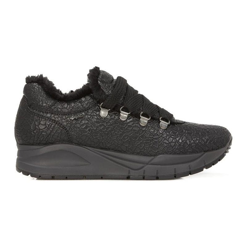 Leather Lace-Up Trainer - IGICO28504 / 314 014
