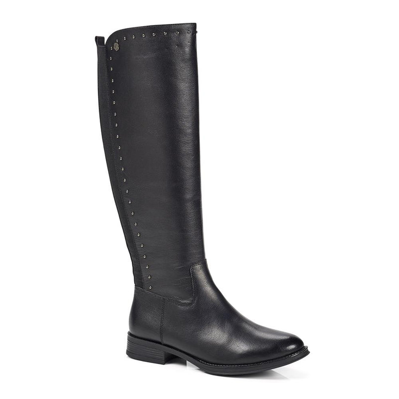 Leather Riding Boot - XTI28545 / 314 108