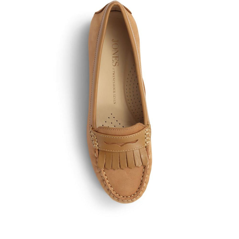 Leather Penny Loafer - GLO29502 / 314 603