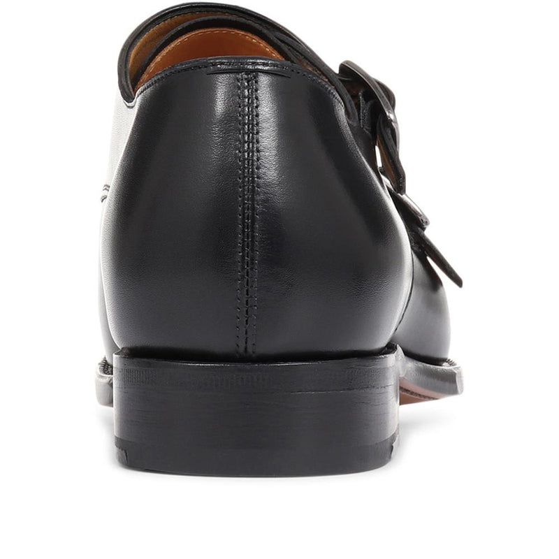 Shakespeare Double Monk Strap Leather Shoe - SANTO29501 / 315 647