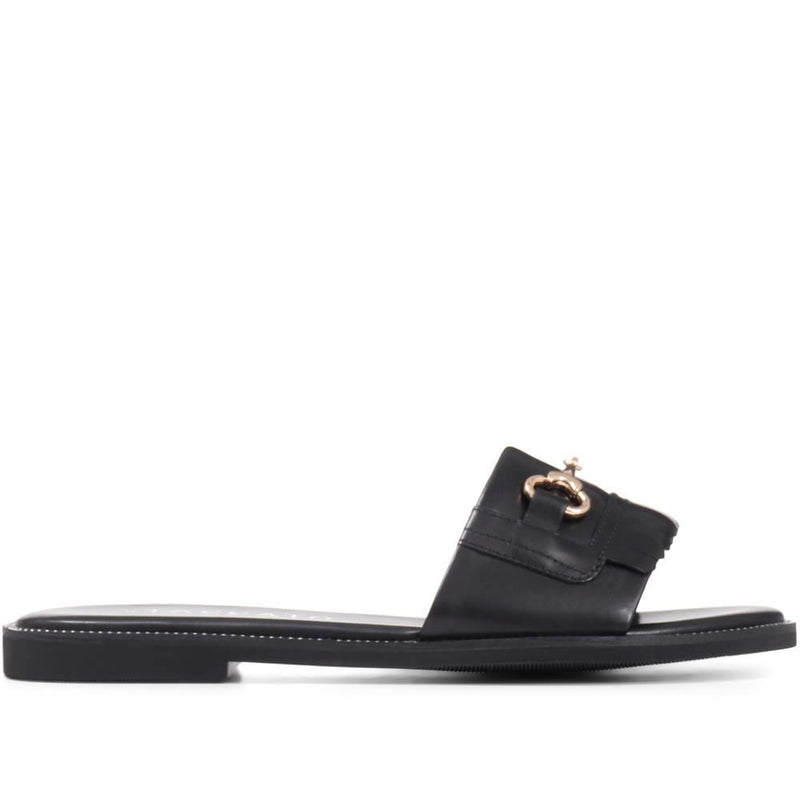 Sutton Leather Slider Sandal - BEL29506 / 315 291
