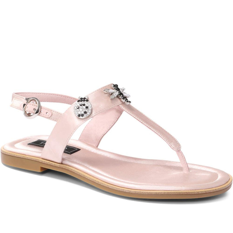Embellished Toe Post Sandal - BEL29508 / 315 293