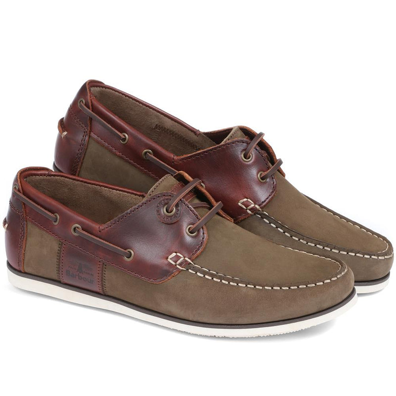 Capstan Leather Boat Shoe - BARBR29510 / 314 261