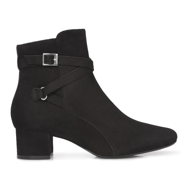 Block Heel Ankle Boot - GLO28506 / 313 765