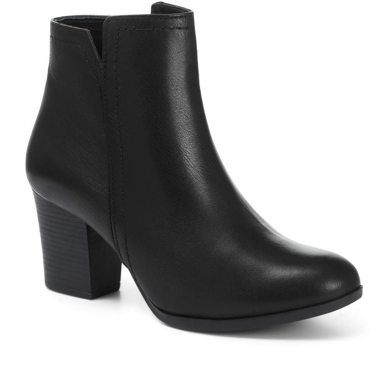 Heeled Ankle Boot - META28510 / 313 919