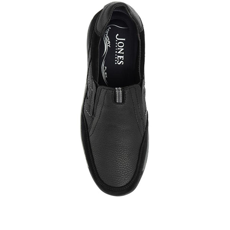Casual Leather Slip-On Trainer - ZEN30507 / 316 852