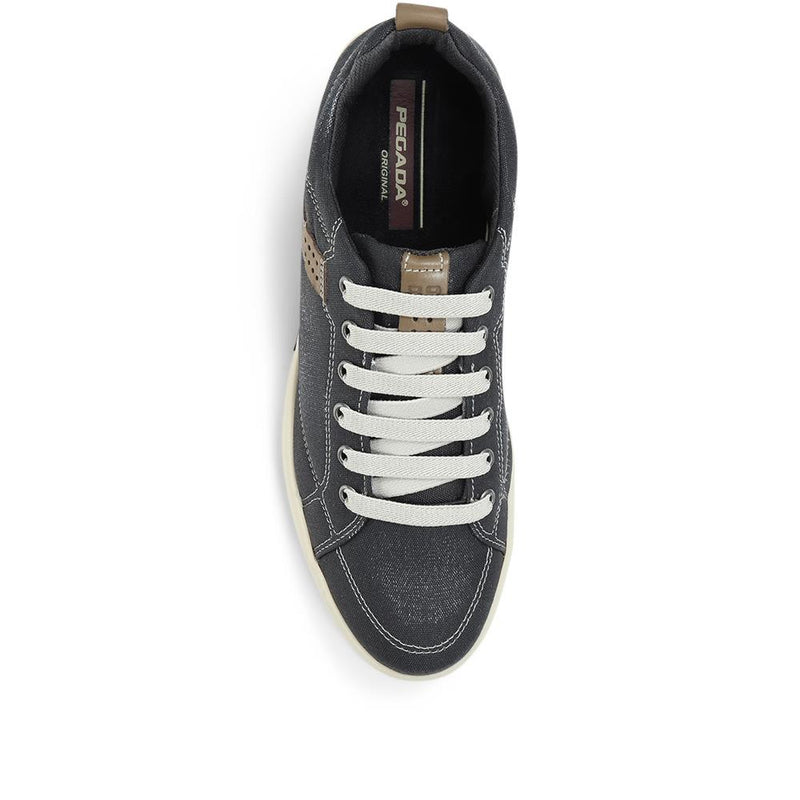 Wide Fit Lace-Up Trainers - PEG31005 / 317 720