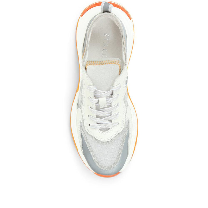 Chunky Lace-Up Trainer - BEL31516 / 318 260