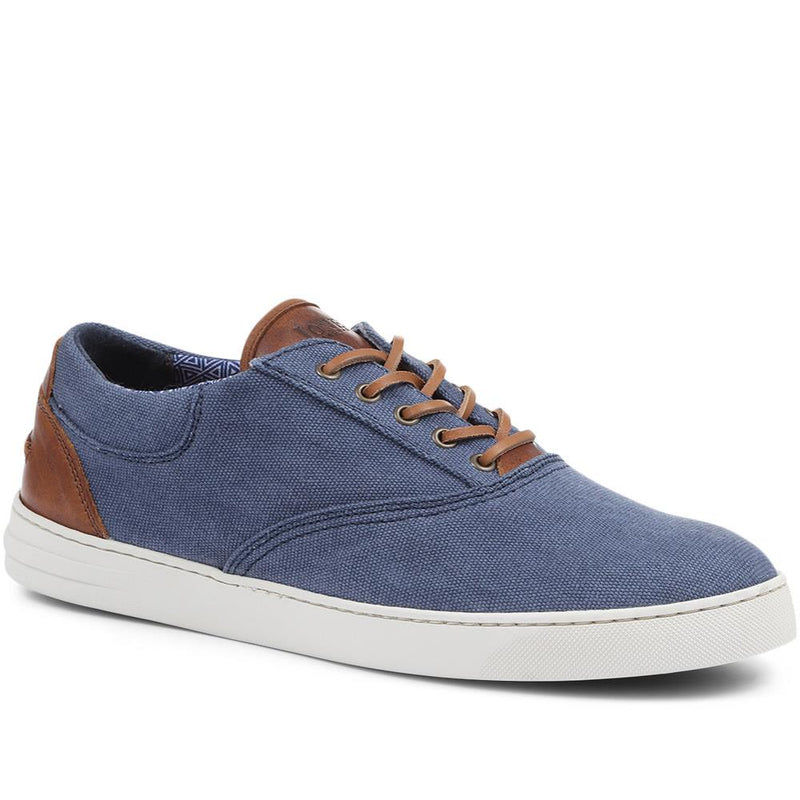 Ted Canvas Lace-Up Trainer - TED / 318 113