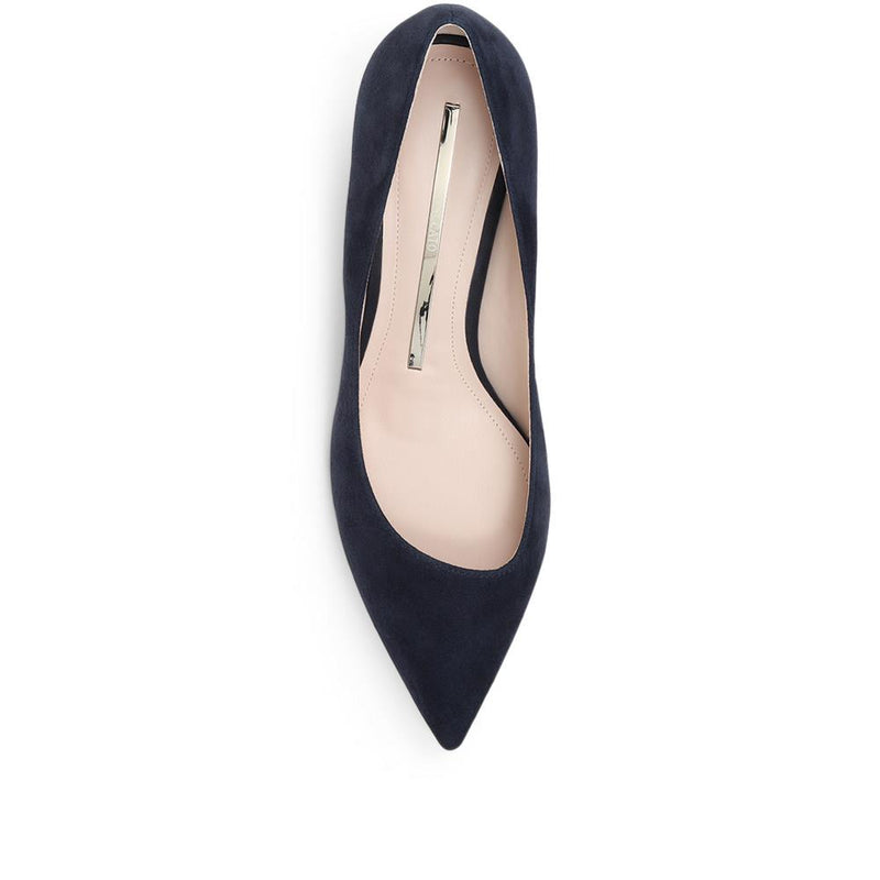 Pointed Plexi-Heel Court Shoe - BEL31514 / 318 258