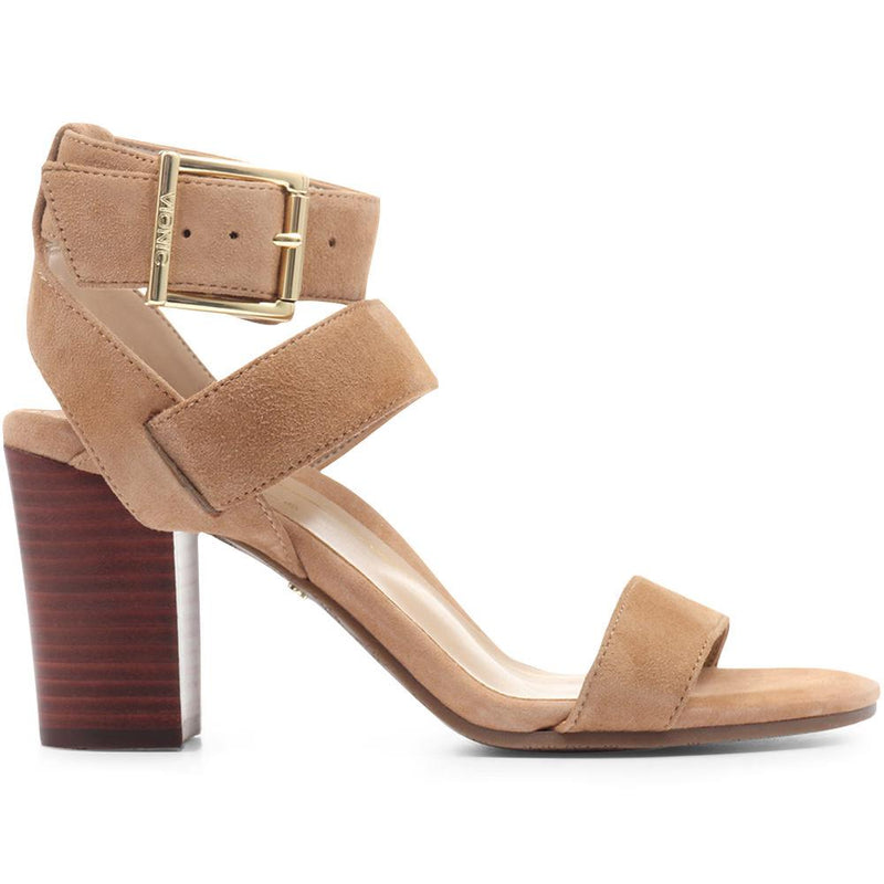 Sofia Suede Heeled Sandals - VION31501 / 318 646