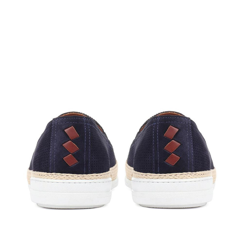 Seb Suede Espadrille Loafers - SEB / 318 449