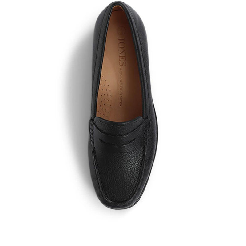 Leather Penny Loafer - GLO28508 / 313 767