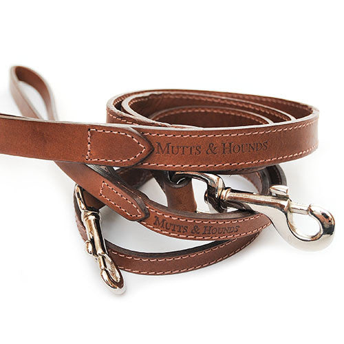 Wide Leather Lead