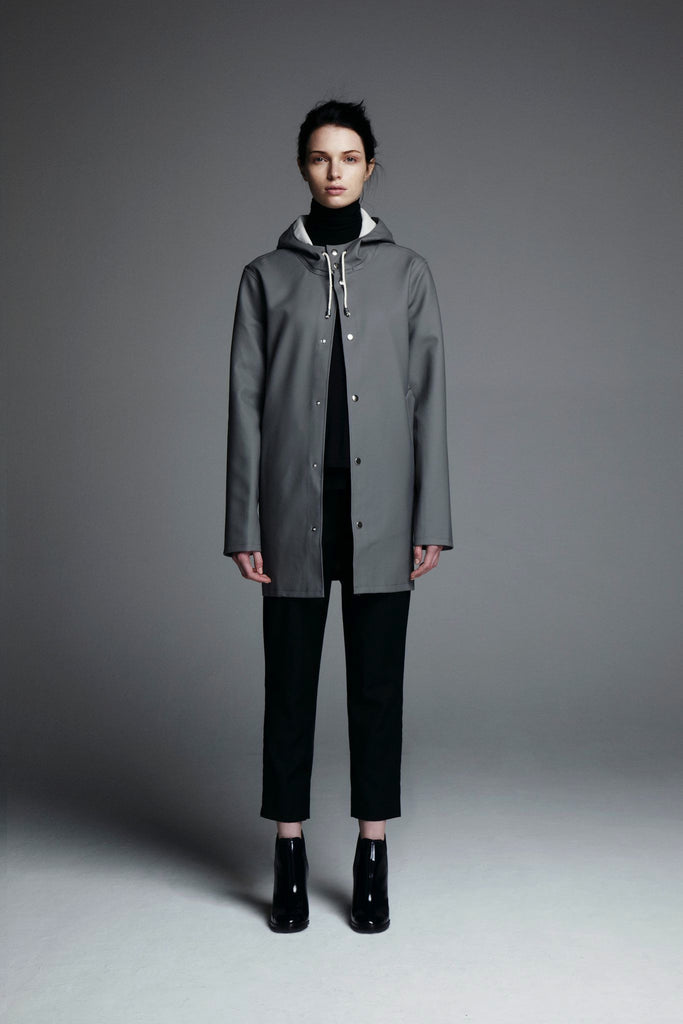 Stockholm Raincoat in Grey