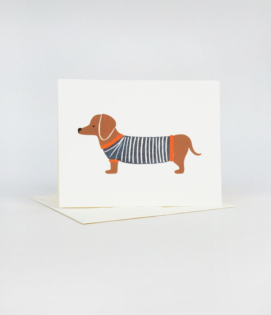 Dog - Dachshund Card