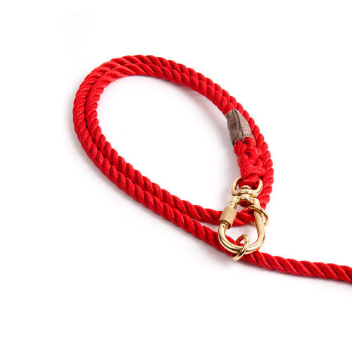 Red Rope Adjustable Lead