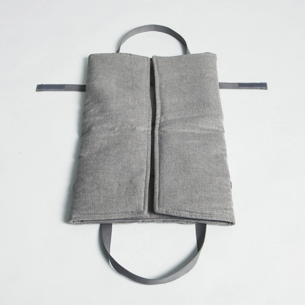 Travel Bed in Light Grey from Cloud 7
