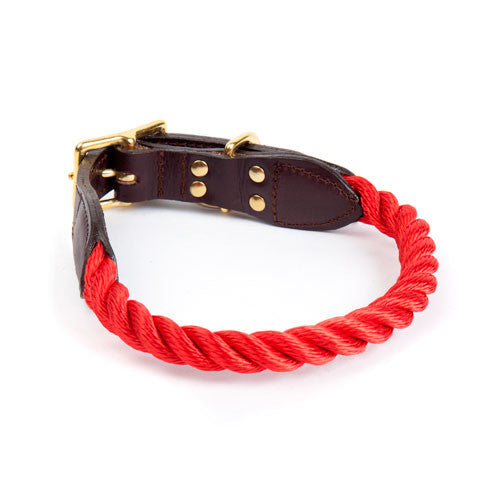 Rope Collar in Red
