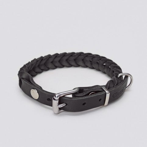 Central Park Dog Collar in Black
