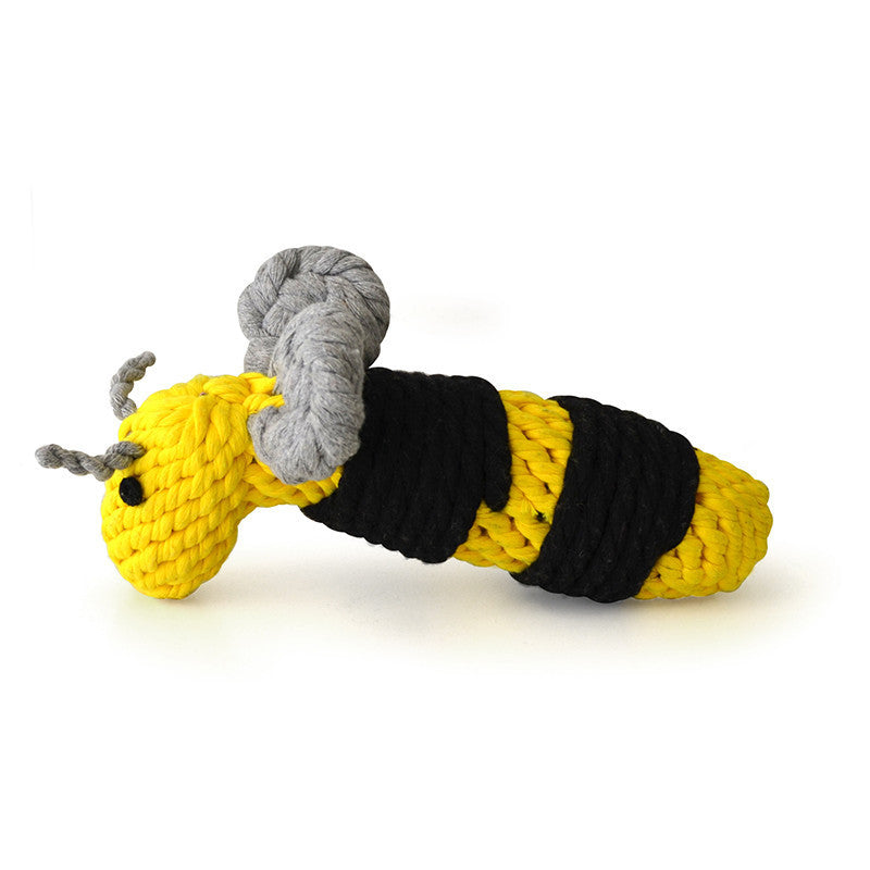 Buzzy Bumble Bee Rope Toy