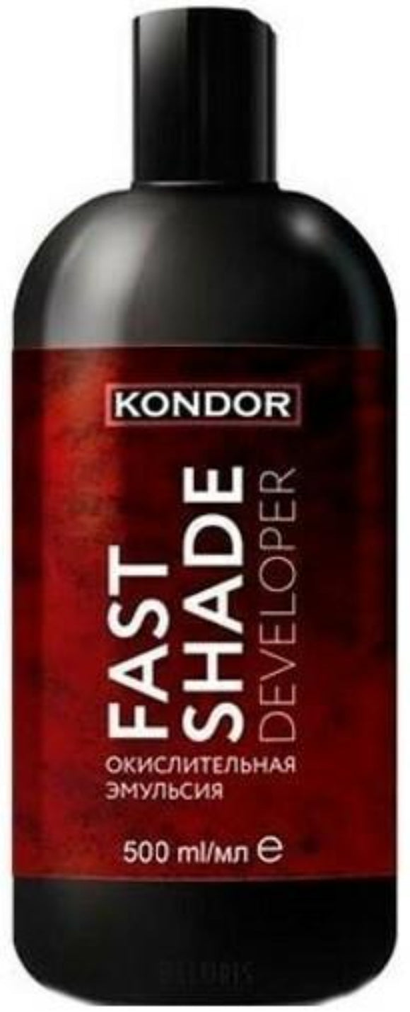 KONDOR FAST SHADE DEVELOPER oksiduojanti emulsija 1: 1 500ml