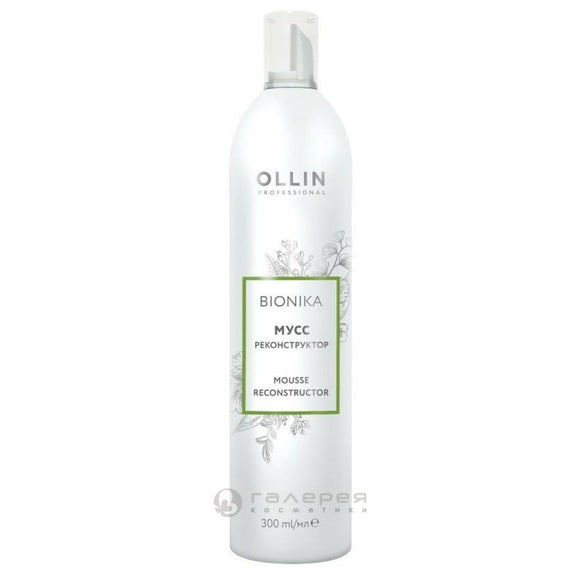 OLLIN BioNika Putos / mousse rekonstruktorius 300ml
