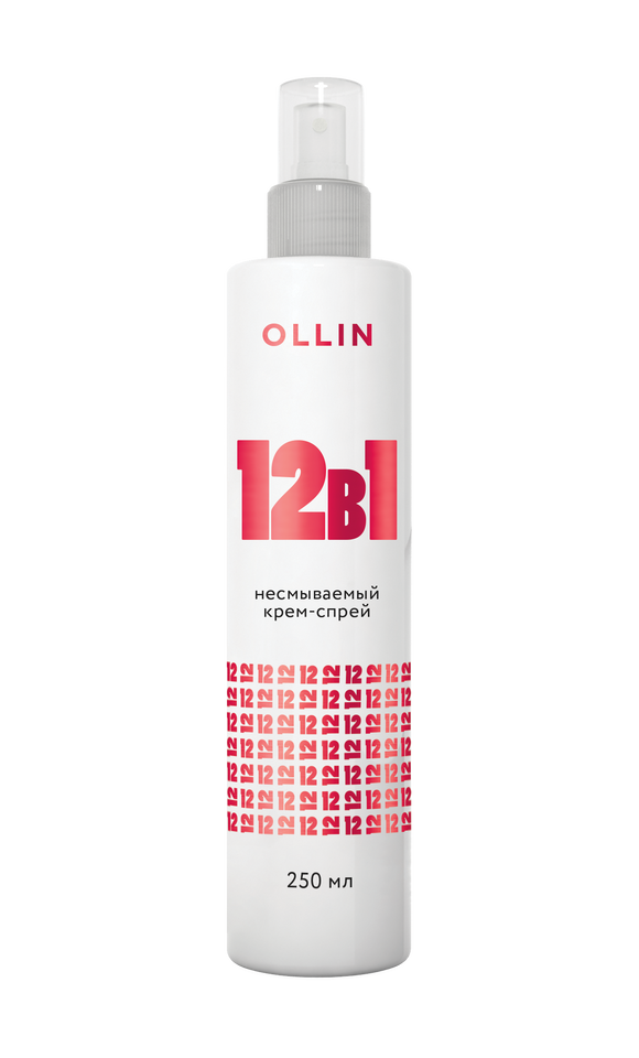 OLLIN PERFECT HAIR 12in1 nenuplaunamas kremas plaukams 250 ml