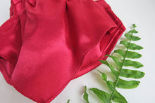 Load image into Gallery viewer, Full Bandana Face Mask in Red Sateen
