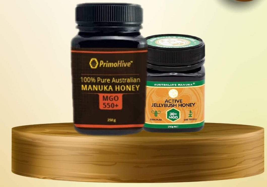 MANUKA HONEY MGO550+ and MGO30+