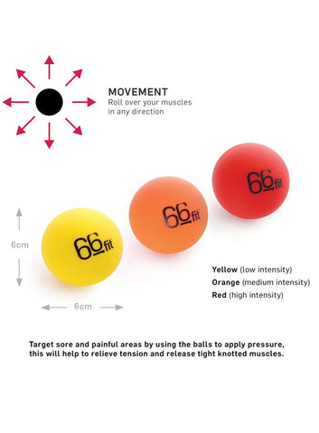 66Fit Acupressure Trigger Point Massage Balls - Fitshop - 2