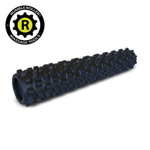 Rumble Roller Extra Firm Black - Full Size 15cm x 77.5cm - Fitshop - 1