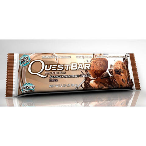 Quest Bar - Double Chocolate Chunk 60g - Fitshop - 2