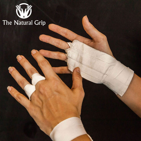 The Natural Grips - White - Fitshop - 1