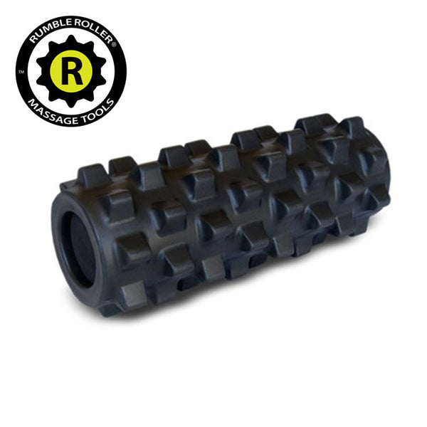 Rumble Roller Extra Firm Black - Compact Size 12.5cm x 30cm - Fitshop - 1