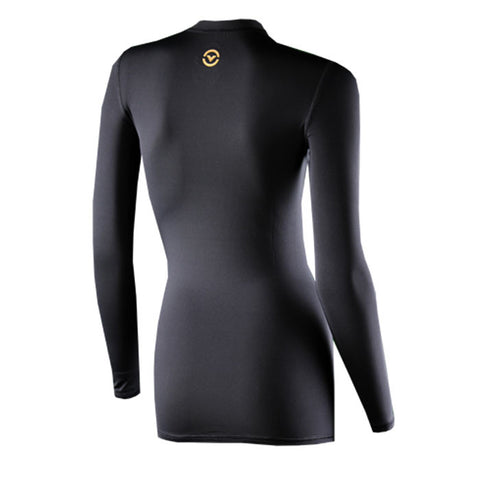 Virus Women's Recovery Compression Long Sleeve Top Black - Fitshop - 2