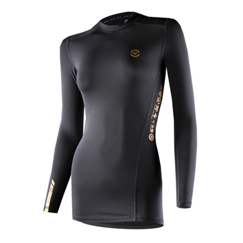 Virus Women's Recovery Compression Long Sleeve Top Black - Fitshop - 1